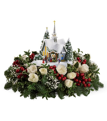 Christmas flowers gifts gift baskets